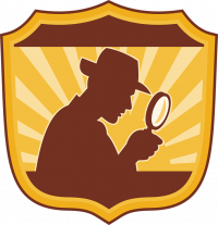 Badge with Detective